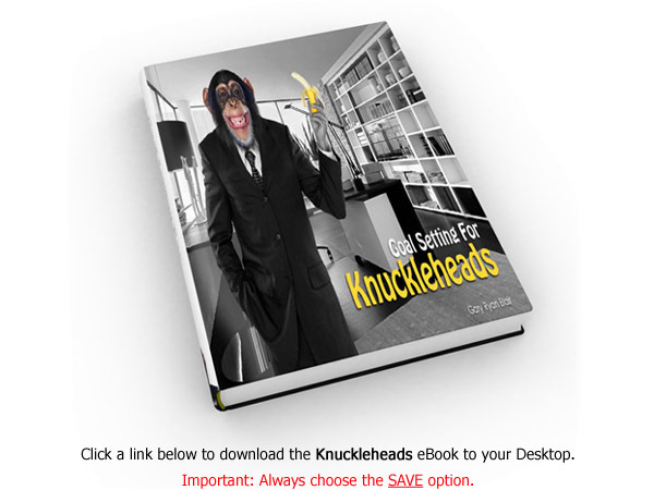 "Right-click this link and Save the ""Knuckleheads"" eBook to your Desktop."